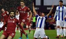 SOI SỐ BÀN THẮNG Liverpool - Porto, 2h45 - 7/3 (Champions League 2017-18)