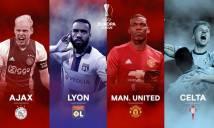 Xác định 2 cặp bán kết Europa League: MU tránh được Lyon