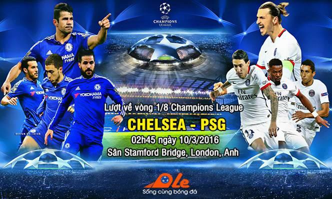 Chelsea vs PSG, 02h45 ngày 10/03: Xua tan sương mù
