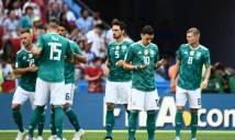 Thua Hàn Quốc, nhà ĐKVĐ Đức bị loại từ vòng bảng World Cup 2018
