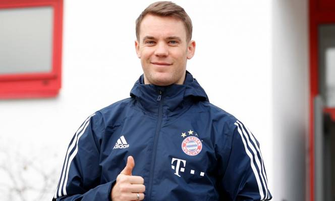 Sau hơn nửa năm nghỉ chấn thương, Neuer đã trở lại đội hình Bayern