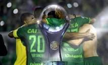 Điểm tin chiều 04/12: Chapecoense được trao chức VĐ Copa Sudamericana