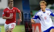 Thụy Sỹ vs Đảo Faroe, 00h00 ngày 14/11: Vững bước ngôi đầu