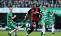 Nhận định Werder Bremen vs Freiburg 00h30, 21/12 (Vòng 3 - Cúp Quốc Gia Đức)