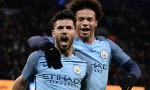 Aguero lập cú đúp, Man City dễ dàng đè bẹp Huddersfield