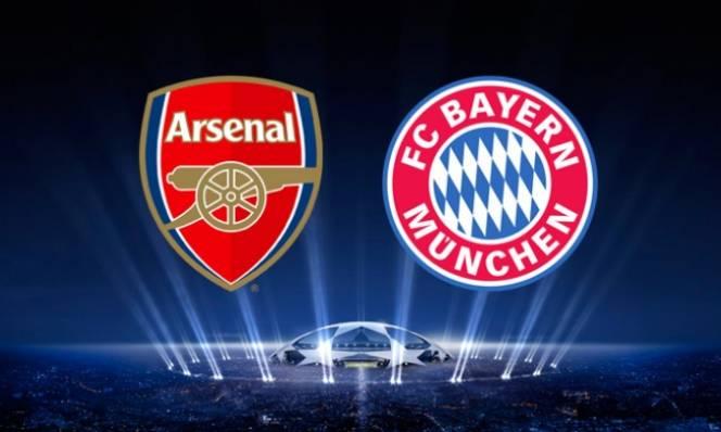 Arsenal vs Bayern Munich, 02h45 ngày 08/03: Vớt vát chút danh dự