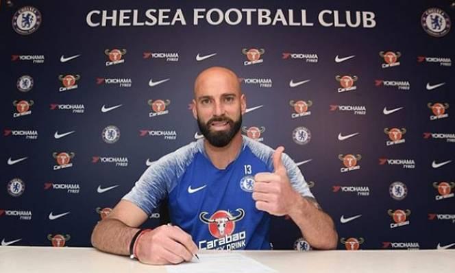 Chelsea gia hạn thành công với thủ thành Willy Caballero