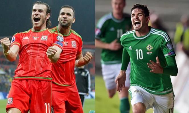 Xứ Wales vs Bắc Ireland, 23h00 ngày 25/06: Derby vương quốc Anh