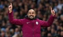 """Man City sắp """"trọng thưởng"""" cho Pep Guardiola"""