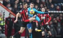 Kết quả Bournemouth 2-1 Arsenal: Thiếu Sanchez & Oezil, Pháo thủ nhận trái đắng