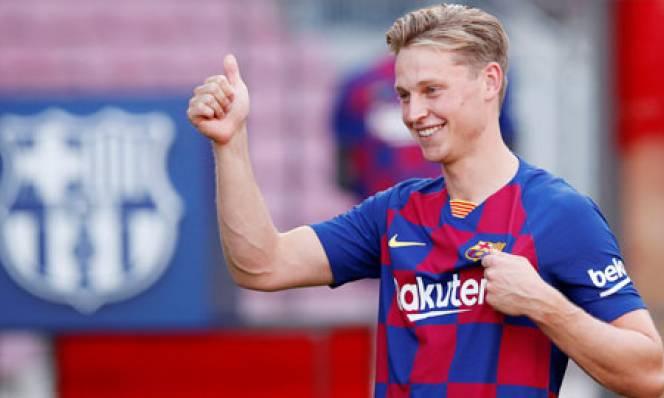 Frenkie de Jong: 'Tôi đến Barca để vô địch Champions League'