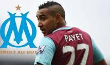 NÓNG: West Ham xác nhận bán Payet cho Marseille