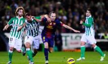 Nhận định Betis vs Barcelona 02h45, 22/01 (Vòng 20 - VĐQG Tây Ban Nha)