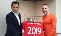Ribery CHÍNH THỨC gia hạn với Bayern Munich