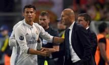 Zidane thấy sợ khi phải để Ronaldo ở ngoài quá nhiều