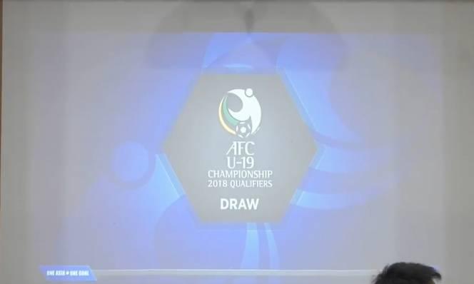 Kết quả bốc thăm vòng loại U16 và U19 Châu Á 2018: Việt Nam dễ thở