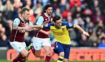Burnley vs Arsenal, 22h30 ngày 02/10: Tiếp đà thăng hoa