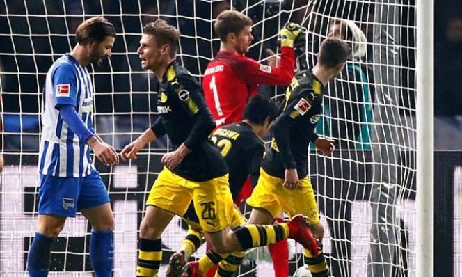 Kết quả bóng đá hôm nay 20/1: Dortmund sảy chân tại Berlin