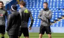CHÙM ẢNH: Dàn sao Chelsea thoải mái trước trận đấu với Stoke