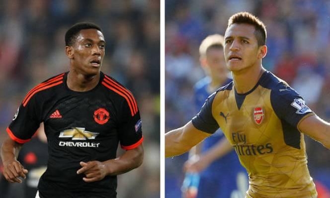 Man Utd sẵn sàng hy sinh Martial để có Sanchez
