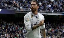 Ramos tức giận, chửi thề các CĐV