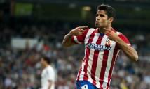 Lộ diện số áo của Diego Costa tại Atletico Madrid