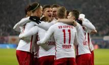 Nhẹ nhàng vượt qua Hertha Berlin, Leipzig tạm chiếm ngôi đầu của Bayern