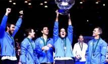 Đánh bại chủ nhà Croatia, Argentina lần đầu vô địch Davis Cup