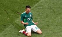 Gục ngã trước Mexico, đội tuyển Đức gây thất vọng