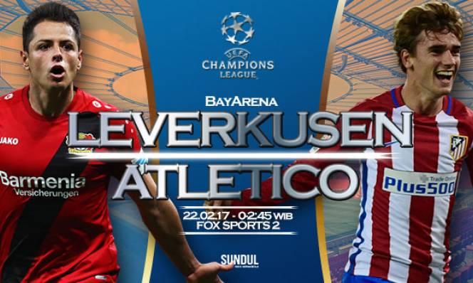 Leverkusen vs Atletico Madrid, 2h45 ngày 22/02: Hy vọng mong manh