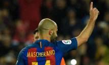 Mascherano lần đầu ghi bàn, Barca đè bẹp Osasuna trên sân nhà Camp Nou