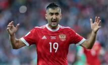 Hai cầu thủ Nga giã từ ĐTQG ngay sau thất bại trước Croatia