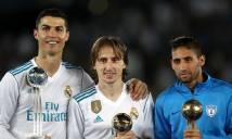 Lập đại công, Ronaldo vẫn bỏ lỡ giải thưởng cuối cùng năm 2017