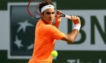 Federer có thể sớm chạm trán Nadal và Djokovic tại Indian Wells