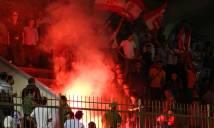 Sân Lạch Tray bị phạt, CĐV quá khích Hải Phòng tới sân Nha Trang làm loạn