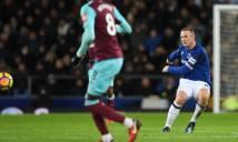 Siêu phẩm từ giữa sân của Rooney đẹp nhất Ngoại hạng Anh tháng 11