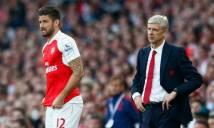 Những lời tâm sự chân tình của HLV Wenger dành cho Giroud trước ngày cậu học trò cưng ra đi
