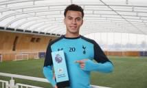 Sao trẻ Tottenham ẵm danh hiệu Cầu thủ xuất sắc nhất Premier League tháng 1