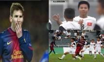 Tài năng trẻ Việt Nam từng ghi siêu phẩm từ giữa sân vào lưới Barca là ai?