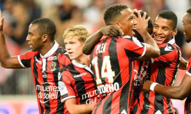 Ngược dòng đánh bại Montpellier, Nice tạo áp lực lên ngôi đầu của Monaco