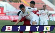 Văn Quyết lập công từ chấm 11m, Hà Nội FC may mắn rời Lạch Tray với 1 điểm