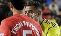 Cardona xin lỗi vì chê cầu thủ Hàn Quốc 'mắt híp'