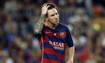 SỐC vì thời gian nghỉ ngơi của Messi từ đầu năm 2017