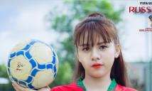 Nhiều thiếu nữ xinh đẹp tại cuộc thi ảnh 'Sống cùng World Cup'