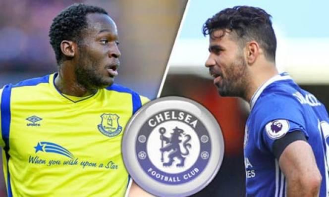Chuyển động tại Chelsea: Đẩy Costa, đón Lukaku