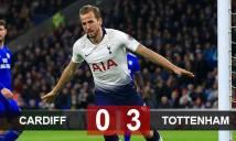 Cardiff 0-3 Tottenham: Spurs mở hội đầu năm
