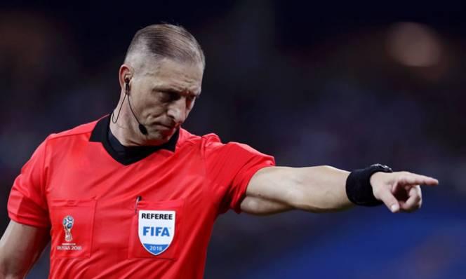 FIFA công bố tổ trọng tài chung kết World Cup 2018