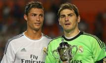 Casillas nòi gì về bản hợp đồng của Ronaldo?