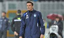 CLB bét bảng Serie A sa thải nhà cựu vô địch World Cup