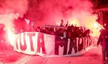 CĐV PSG đốt pháo sáng, phá rối và dọa nạt các ngôi sao của Real Madrid